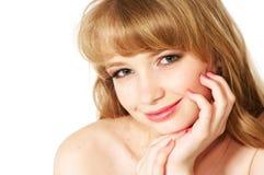 Face bonita nova Imagens de Stock