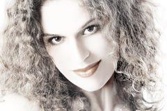 Face bonita nova da mulher imagem de stock royalty free