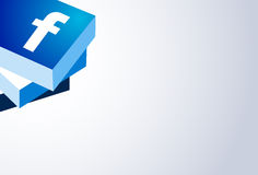 Face Book Logo Stock Photos