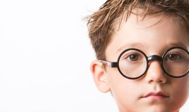 Face of boy Royalty Free Stock Photo