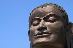 Face of Buddha Stock Images