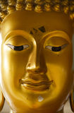 Face of Buddha Royalty Free Stock Photo