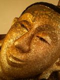 Face of Buddha Royalty Free Stock Photography