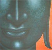 Face of buddha illustration painting meditation Royalty Free Stock Photography