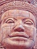 Face of buddha image. At  Wat Sa Kamphaeng Yai, thai temple Stock Photos