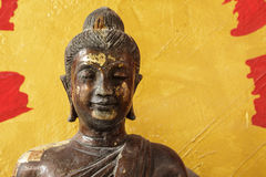 Face of buddha image Royalty Free Stock Photography