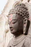 The face of Buddha Stock Image