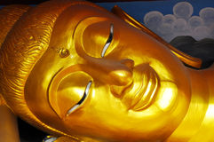 Face of Buddha Statue Stock Photos