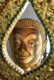 The face of buddha statue Stock Images