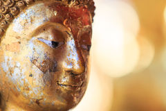 Face of Buddha Royalty Free Stock Images