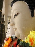 Face of buddha statue Royalty Free Stock Photography