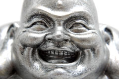 Face of Buddha statue Poe-Tai Ho-Shang Stock Photos