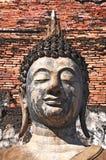 Face of Buddha Status Royalty Free Stock Photos