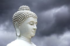 Face buddha Royalty Free Stock Photos