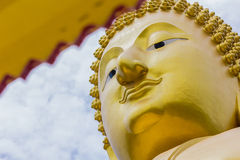 The face Buddha Stock Photography