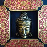 Face of Budha stock images