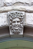 Face on a Building Vancouver Royalty Free Stock Photos