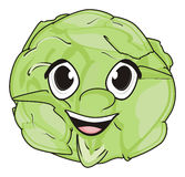 Face of cabbage Royalty Free Stock Photo
