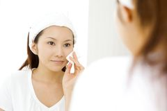 Face care Stock Photography
