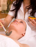 Face care royalty free stock photos