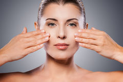 Face care. Stock Photography