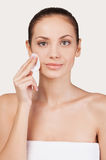 Face care. Royalty Free Stock Photo
