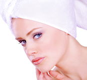 Face care royalty free stock images