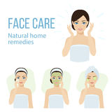 Face care Stock Image