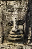 Face carved in the walls at Angkor Wat Stock Image