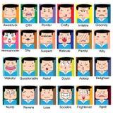 Face charactor Stock Photos