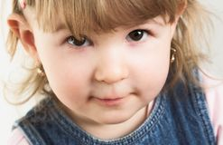 Face of a child Stock Image