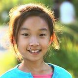 Face chinesa da criança Fotos de Stock Royalty Free
