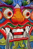 Face chinesa do dragão Imagem de Stock Royalty Free