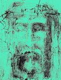 Face of christ Royalty Free Stock Photography