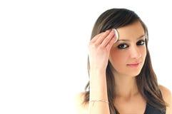 Face clean treatment Stock Photos