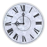 The face of a clock Royalty Free Stock Photography