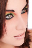 Face Close-up Royalty Free Stock Images
