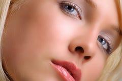 Face closeup Royalty Free Stock Photo