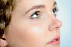 Face closeup photo Royalty Free Stock Images