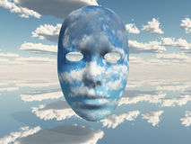 Face Clouds Royalty Free Stock Image