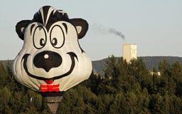 Face colorida do balão imagem de stock royalty free