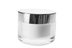 Face Cream. On White Background Royalty Free Stock Photo