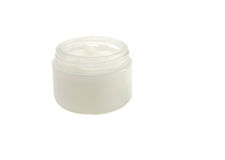 Face cream. On a white background Royalty Free Stock Image