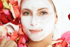 Face cream Royalty Free Stock Photos