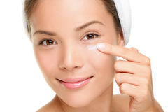 Face cream woman Stock Photography