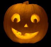 Face da abóbora de Halloween Imagem de Stock Royalty Free