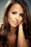 Face da beleza Fotos de Stock