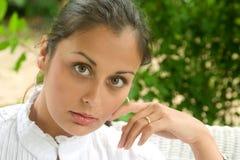 Face da beleza 9 Imagem de Stock