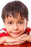 Face da criança fotografia de stock