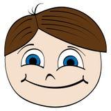 Face da criança ilustração stock
